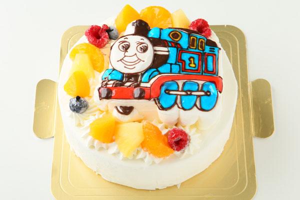 立体生クリームデコレーションケーキ 5号 15cmの画像2枚目