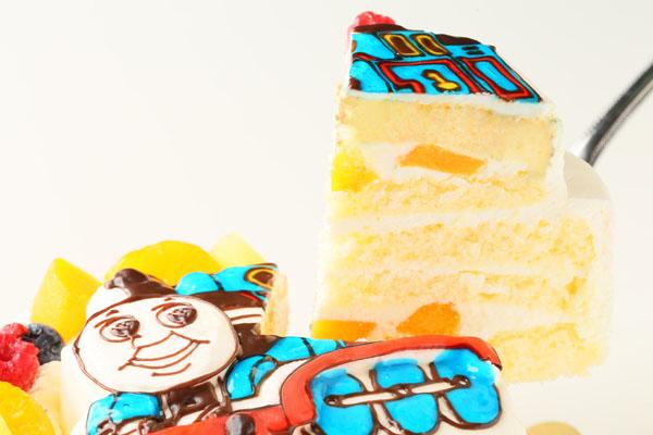 立体生クリームデコレーションケーキ 5号 15cmの画像5枚目