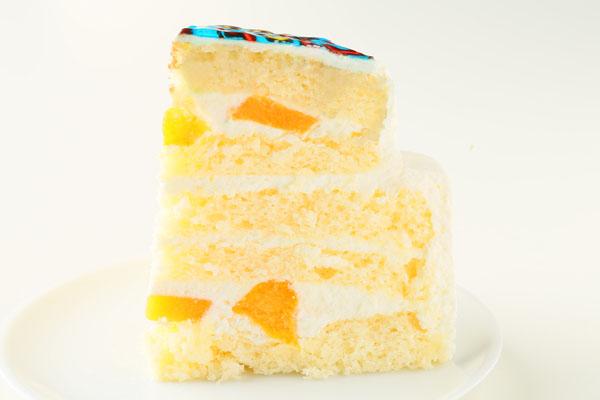 立体生クリームデコレーションケーキ 5号 15cmの画像6枚目