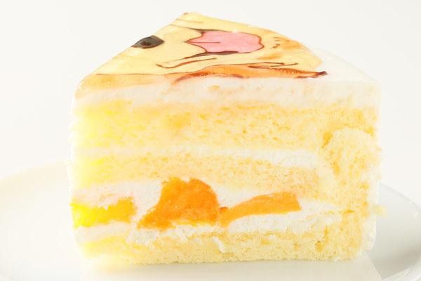 似顔絵生クリームデコレーションケーキ 5号 15cmの画像7枚目