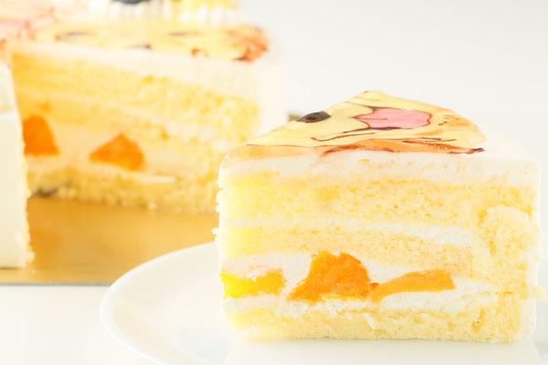 似顔絵生クリームデコレーションケーキ 5号 15cmの画像8枚目