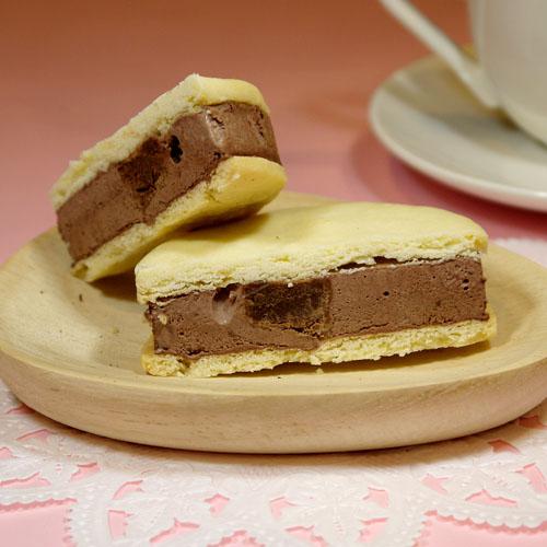 クッキー アイス 【クッキーアイスサンド 生チョコ】 スイーツ お菓子 お取り寄せ ギフト かわいい ギフト 国産【 お菓子】