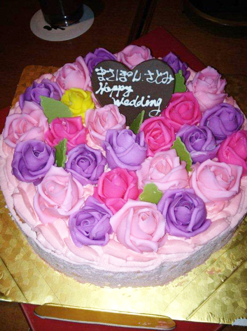 お祝いケーキ 【平面】
