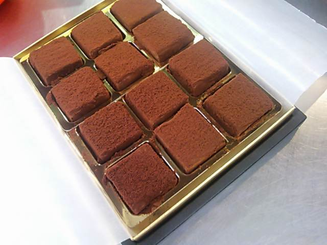 低糖質生チョコ12個入り