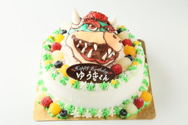 立体3Dケーキ 8号(直径24cm)の画像5枚目