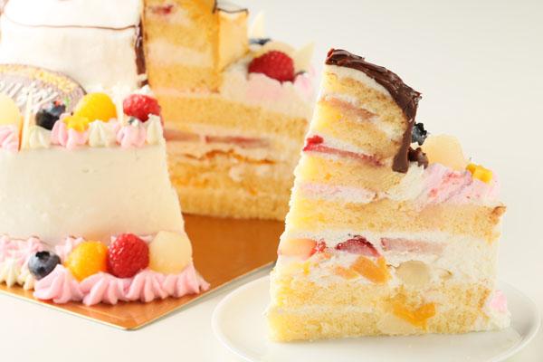 立体3Dケーキ 8号(直径24cm)の画像8枚目