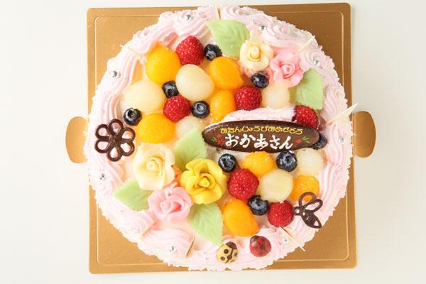 お花畑のケーキ5号(直径15cm)の画像2枚目
