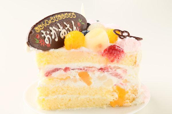 お花畑のケーキ5号(直径15cm)の画像4枚目