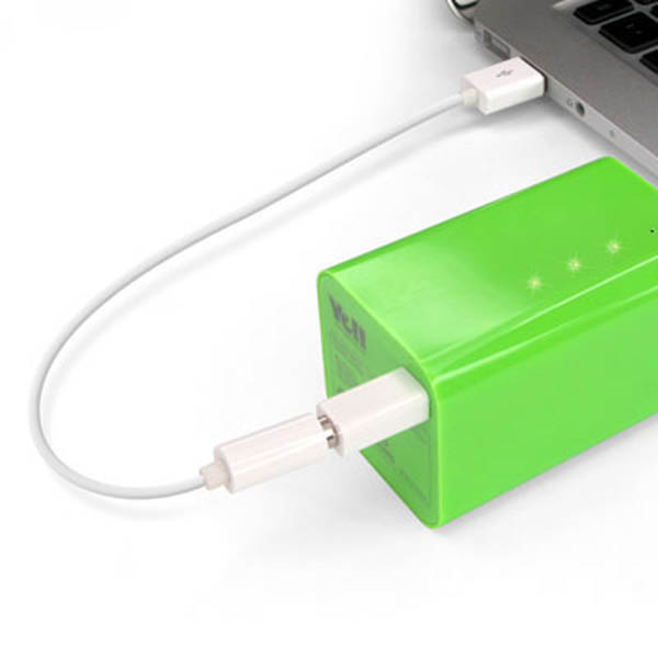 大容量モバイルバッテリーYe!! Energy Bar 6600【誕生日 贈り物 プレゼント 充電器】の画像2枚目
