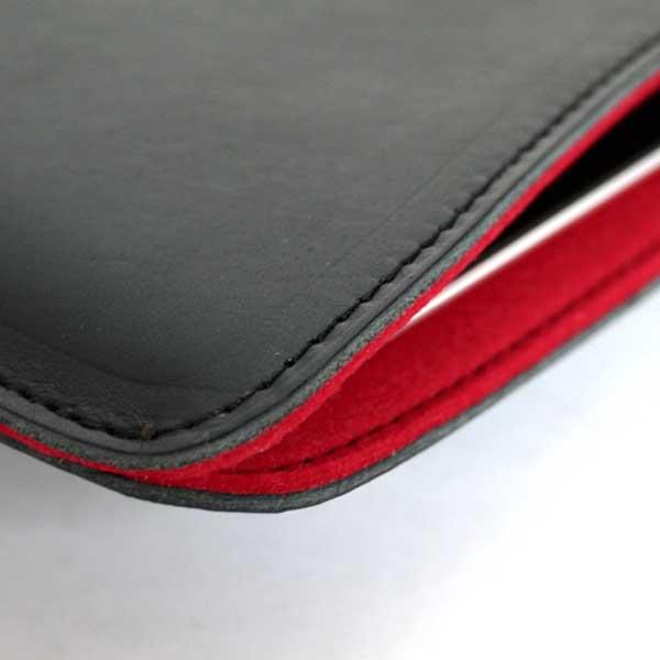オイルドレザースリーブiPad mini 牛本革製ケースカバー【誕生日 贈り物 プレゼント スマホケース 革製 ハンドメイド】の画像2枚目