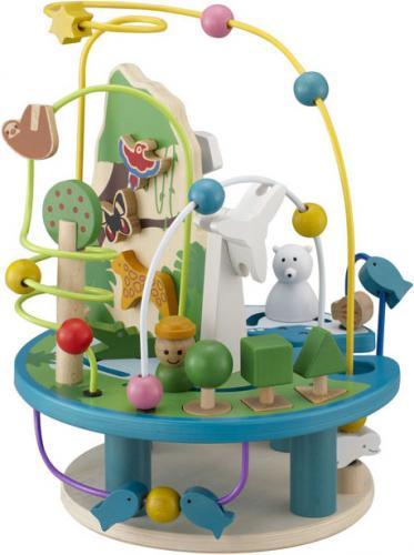 地球コースター【誕生日 バースデー ギフト 贈り物 プレゼント お祝い 子供 キッズ おもちゃ 木製】の画像1枚目