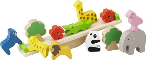動物たちと仲良しバランスゲーム 'なかよしシーソー'【誕生日 バースデー ギフト 贈り物 プレゼント お祝い 子供 キッズ おもちゃ 木製】の画像3枚目
