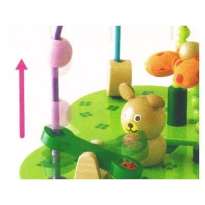 お散歩くまさん【誕生日 バースデー ギフト 贈り物 プレゼント お祝い 子供 キッズ おもちゃ 木製】の画像3枚目