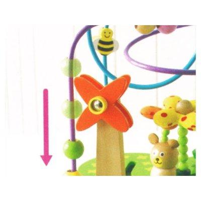 お散歩くまさん【誕生日 バースデー ギフト 贈り物 プレゼント お祝い 子供 キッズ おもちゃ 木製】の画像4枚目