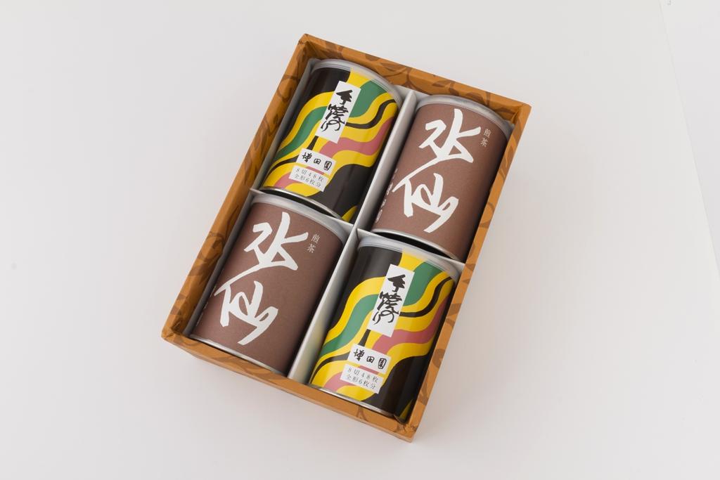 【深蒸し煎茶/ 手焼のり】 水仙2缶/手焼のり2缶セット【誕生日 バースデー ギフト 贈り物 プレゼント お祝い 食品 海苔】