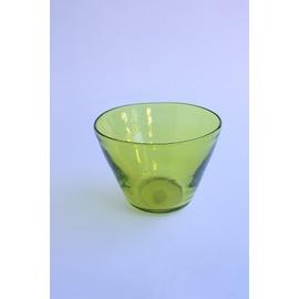 外被せボウル(オリーブグリーン)【誕生日 バースデー ギフト 贈り物 プレゼント お祝い ガラス 食器】