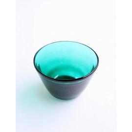 外被せコップ(エメラルドグリーン)【誕生日 バースデー ギフト 贈り物 プレゼント お祝い ガラス 食器】の画像1枚目