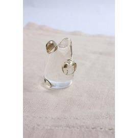クマのハンコ【誕生日 バースデー ギフト 贈り物 プレゼント お祝い ガラス】の画像1枚目