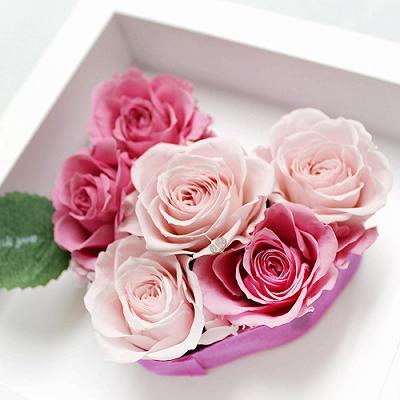 アモーレ ピンク【プリザーブドフラワー アレンジメント フラワーギフト プレゼント ギフト】の画像6枚目