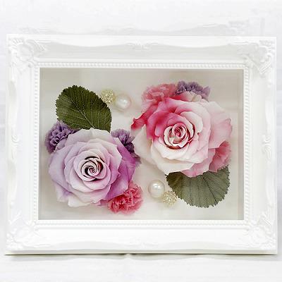 【母の日】ピュアスマイル【花 フラワーギフト プレゼント お祝い 誕生日 贈り物 母の日 ギフト 引っ越し祝い 新 築祝い インテリア雑貨 時計 お引越 ご移転】の画像1枚目