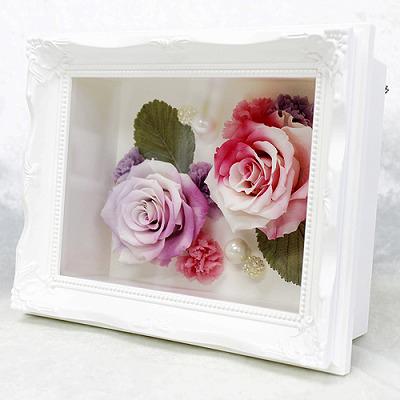 【母の日】ピュアスマイル【花 フラワーギフト プレゼント お祝い 誕生日 贈り物 母の日 ギフト 引っ越し祝い 新 築祝い インテリア雑貨 時計 お引越 ご移転】の画像2枚目