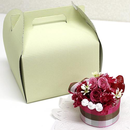 ストロベリーケーキ【プリザーブドフラワー アレンジメント フラワーギフト プレゼント ギフト】の画像3枚目
