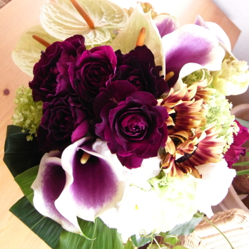 デザイナーズおまかせ花束 スタイリッシュ【花・ガーデン・DIY > 造花 > 花束】記念日向けギフトの通販サイト「バースデープレス」