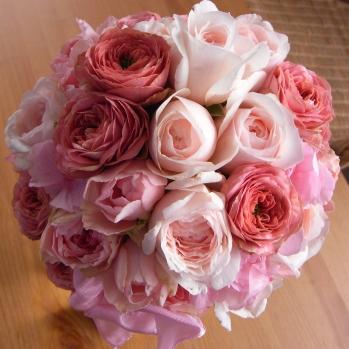 PINKラウンドブーケ【花・ガーデン・DIY > 造花 > 花束】記念日向けギフトの通販サイト「バースデープレス」