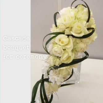 キャスケードブーケ【花・ガーデン・DIY > 造花 > 花束】記念日向けギフトの通販サイト「バースデープレス」