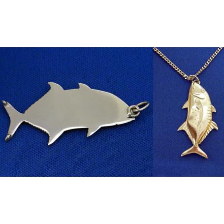 GT(シルバー)【誕生日 バースデー ギフト 贈り物 プレゼント 記念品 アクセサリー  ストラップ 魚】の画像2枚目