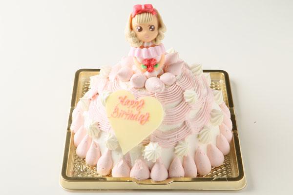 プリンセスケーキ苺のムース サイズ5号15cm(5~8名様用)