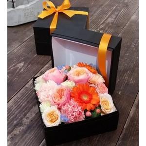 ボックスフラワー 生花 お祝い お誕生日 父の日 プレゼント ギフト 様々なご用途でお使い頂けます