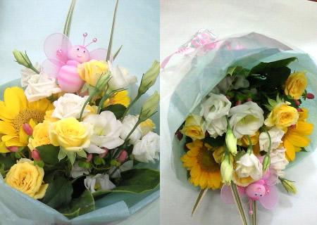 季節の花束【花 フラワーギフト プレゼント お祝い 誕生日 贈り物】