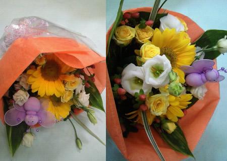 季節の花束2【花 フラワーギフト プレゼント お祝い 誕生日 贈り物】の画像2枚目