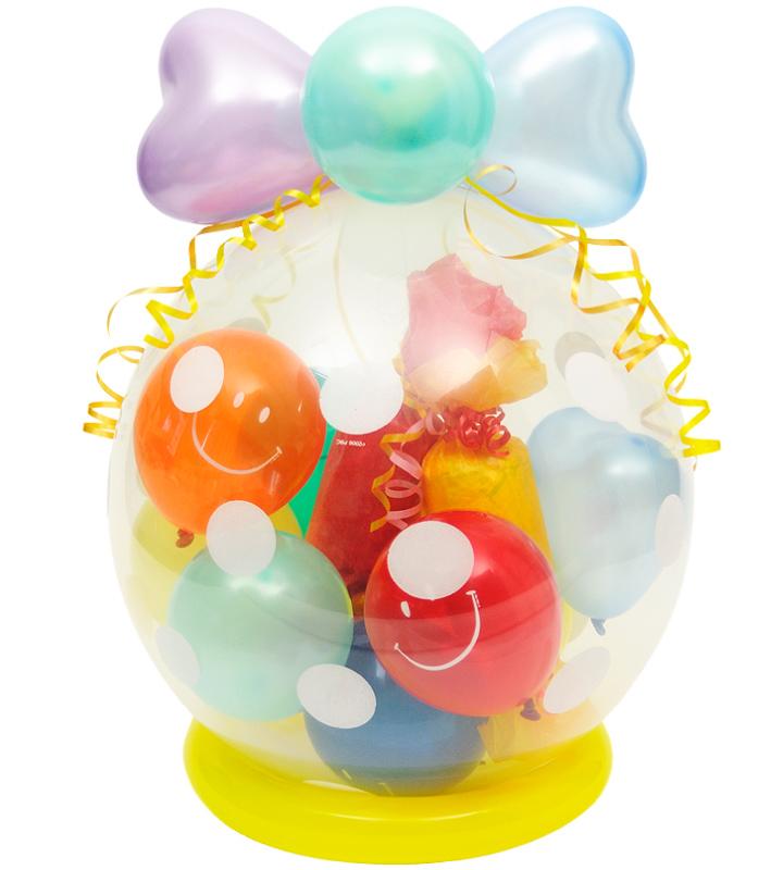 ラッピングバルーン♪笑顔いっぱい♪キャンディ型おむつケーキ♪【出産祝いのバルーン電報・バルーンギフト】 g-bby-0056::966【おもちゃ・ホビー・ゲーム > パーティー・イベント用品・販促品 > パーティー・イベント用品 > バルーン・風船】記念日向けギフトの通販サイト「バースデープレス」