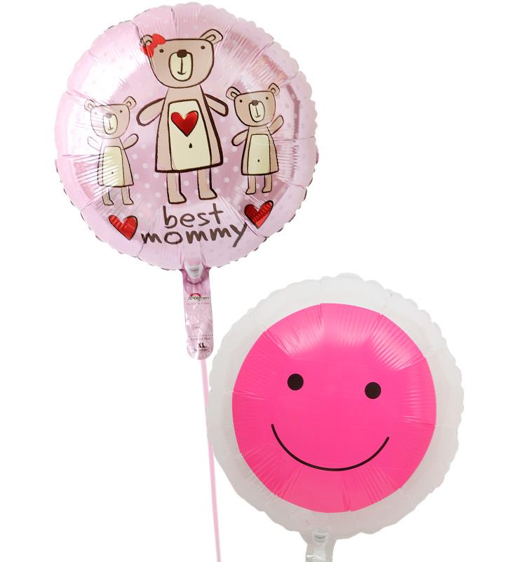 ピンクのクマと透明ピンクスマイルの母の日に贈るバルーン電報・バルーンギフト【母の日のバルーン電報・バルーンギフト】 g-mtr-0001::966【おもちゃ・ホビー・ゲーム > パーティー・イベント用品・販促品 > パーティー・イベント用品 > バルーン・風船】記念日向けギフトの通販サイト「バースデープレス」