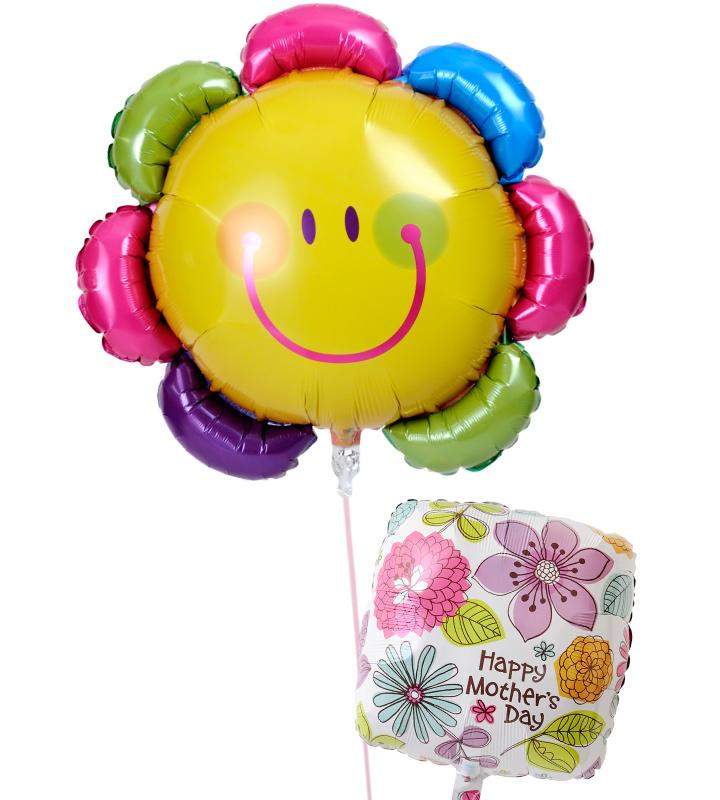 カラフルフラワーとスクエアフラワーの母の日に贈るバルーン電報・バルーンギフト【母の日のバルーン電報・バルーンギフト】 g-mtr-0012::966【おもちゃ・ホビー・ゲーム > パーティー・イベント用品・販促品 > パーティー・イベント用品 > バルーン・風船】記念日向けギフトの通販サイト「バースデープレス」