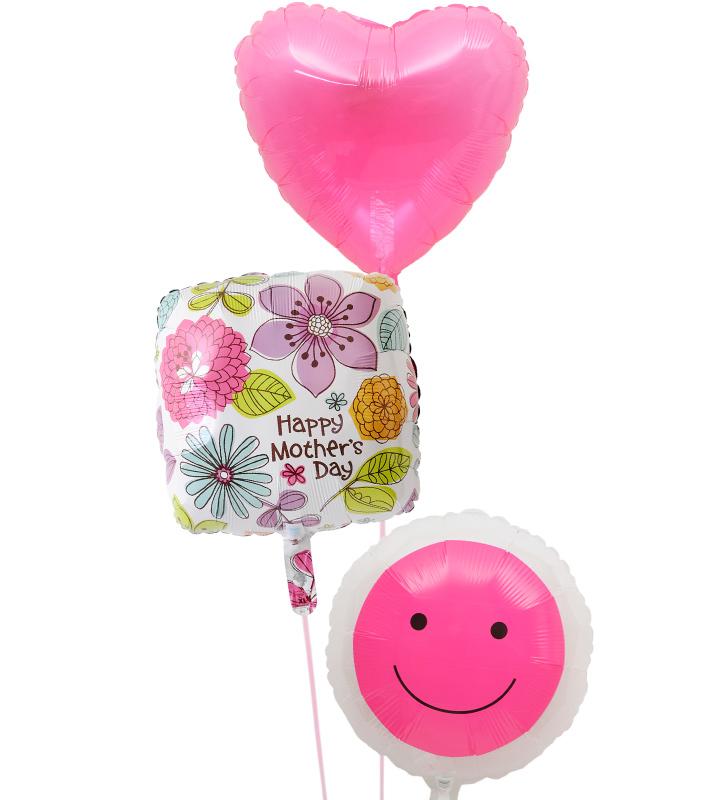 透明ピンクハートとスクエアハート、透明ピンクスマイルの母の日に贈るバルーン電報・バルーンギフト【母の日のバルーン電報・バルーンギフト】 g-mtr-0021::966【おもちゃ・ホビー・ゲーム > パーティー・イベント用品・販促品 > パーティー・イベント用品 > バルーン・風船】記念日向けギフトの通販サイト「バースデープレス」