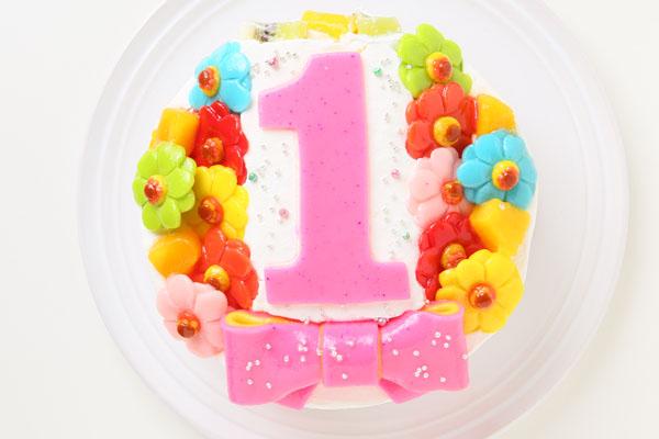 Happy 1st birthdaycake 4号 12cm