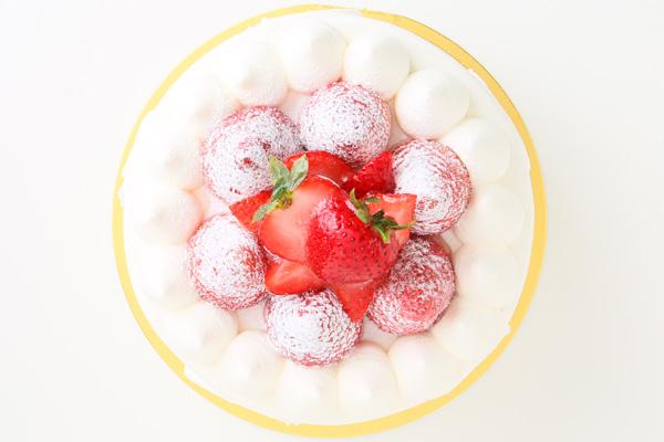豆乳クリームのシャンティーデコレーション 4号 12cmの画像2枚目