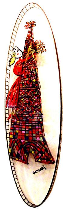 ステンドグラス手描きガラス絵掛け時計::990【インテリア・寝具・収納 > インテリア小物・置物】記念日向けギフトの通販サイト「バースデープレス」