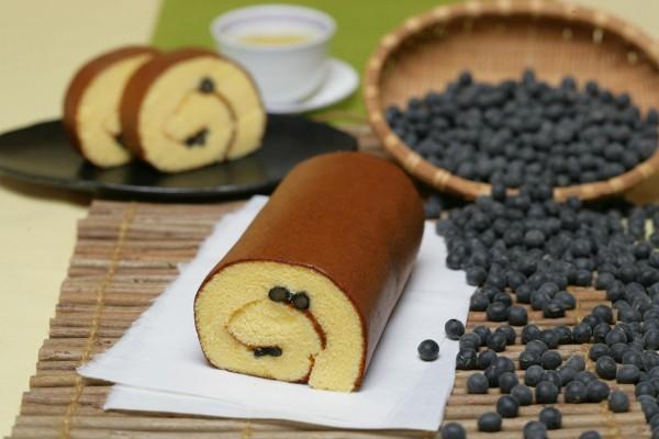 丹波黒豆ロールカステラ(増量サイズ)