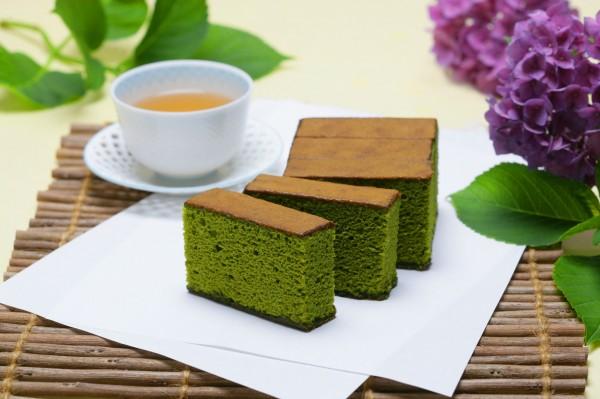 抹茶カステラ半斤 (5切詰)
