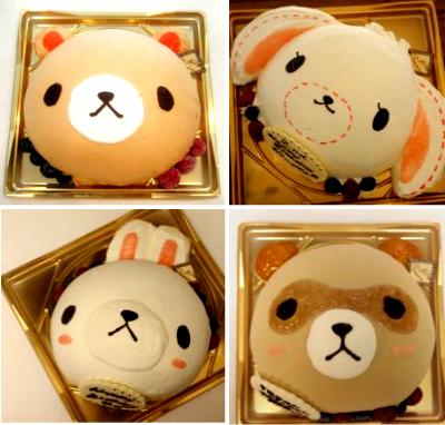 【2016年2月末までの限定販売】立体ケーキ(どうぶつ)5号サイズ