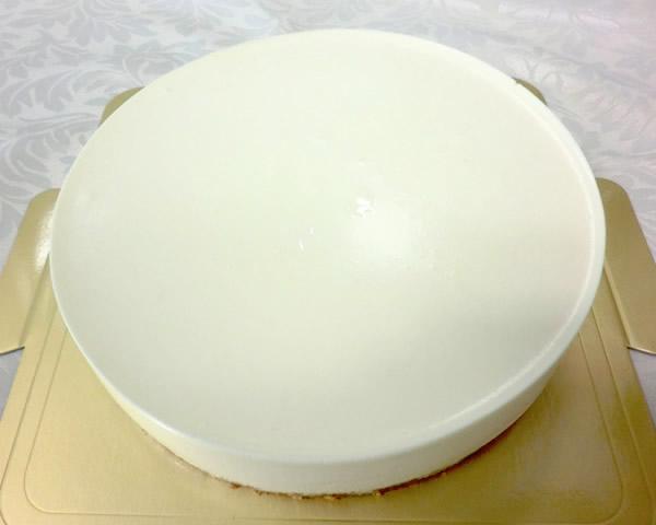 レアチーズケーキ6号【誕生日 ケーキ バースデーケーキ チーズケーキ】の画像1枚目