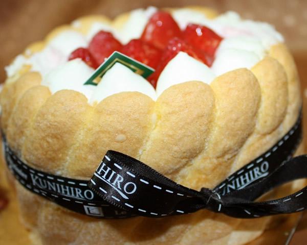 苺のシャルロット7号【バースデーケーキ 誕生日ケーキ デコ バースデー】の画像1枚目