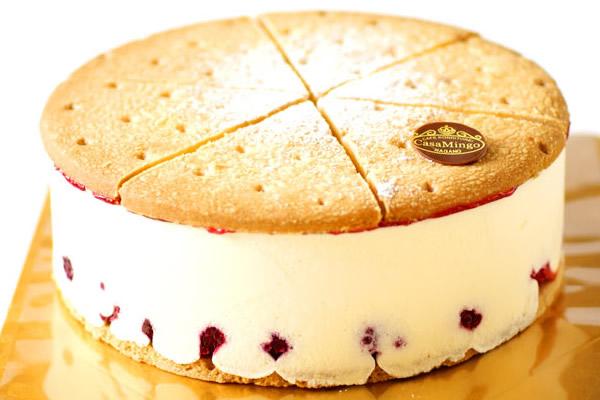 最高級洋菓子 ケーゼザーネトルテ レアチーズケーキ15cm【メッセージプレートなし】