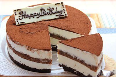 ガトーティラミスデコレーションケーキ 5号 15cmの画像1枚目
