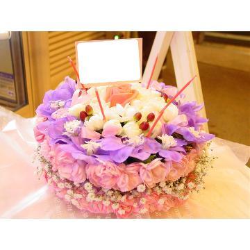 ケーキフラワーS:上品&ラブリー(ピンク系)の画像2枚目