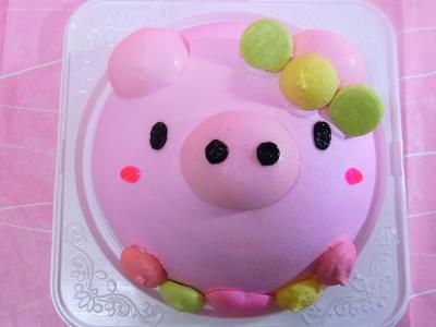 アニマル立体ケーキ 6号 18cm